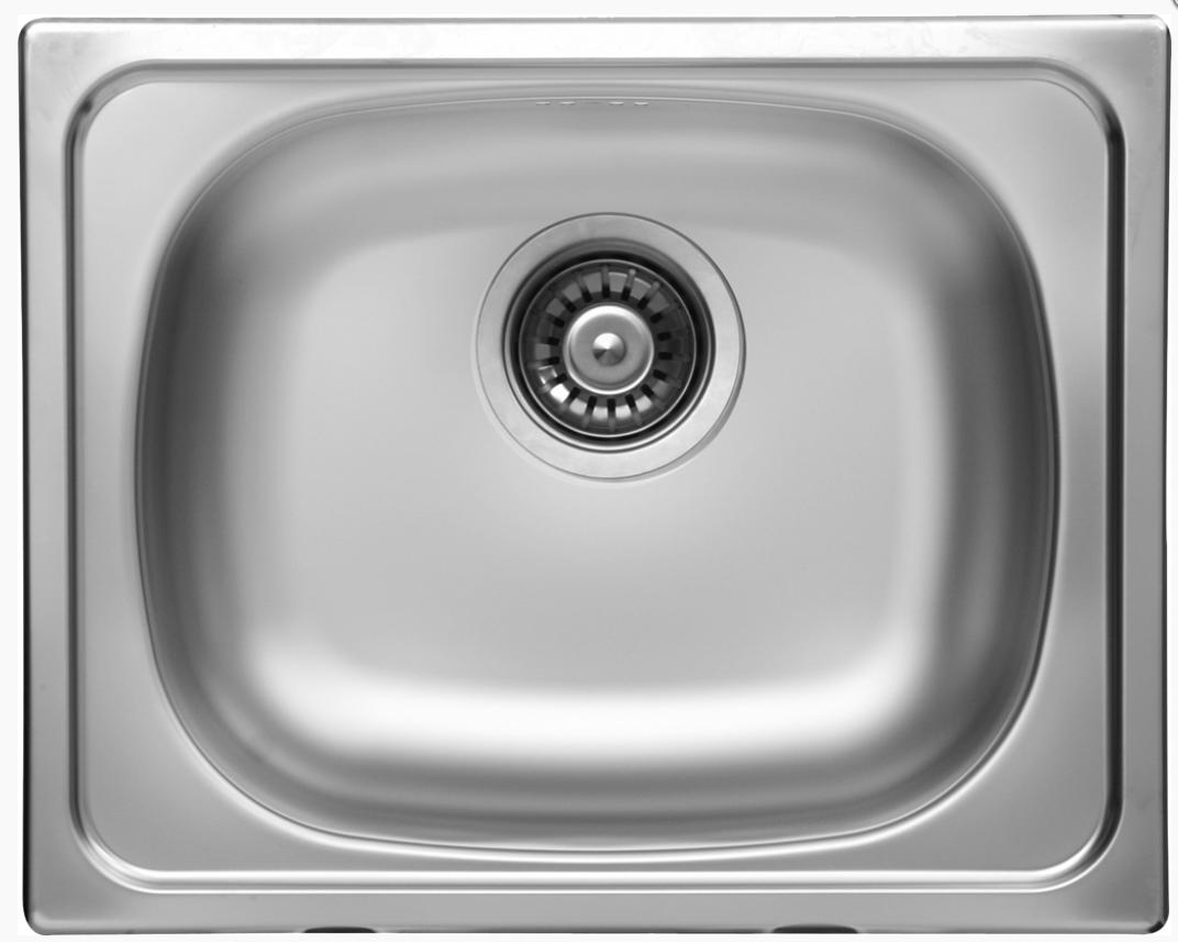 nerezové dřezy malé SINKS Sinks CLASSIC 500 V 0,6mm matný + doprava a dárky zdarma