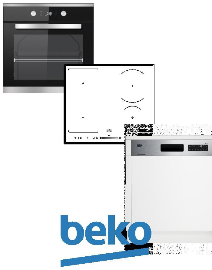 výhodný set BEKO BIM 25301 XCS+HII 64505 FHT+DSN 26320 X zapojení zdarma