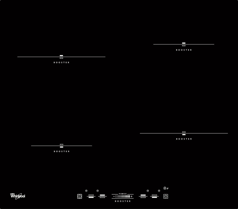indukční varná deska WHIRLPOOL ACM 836 BA zapojení zdarma