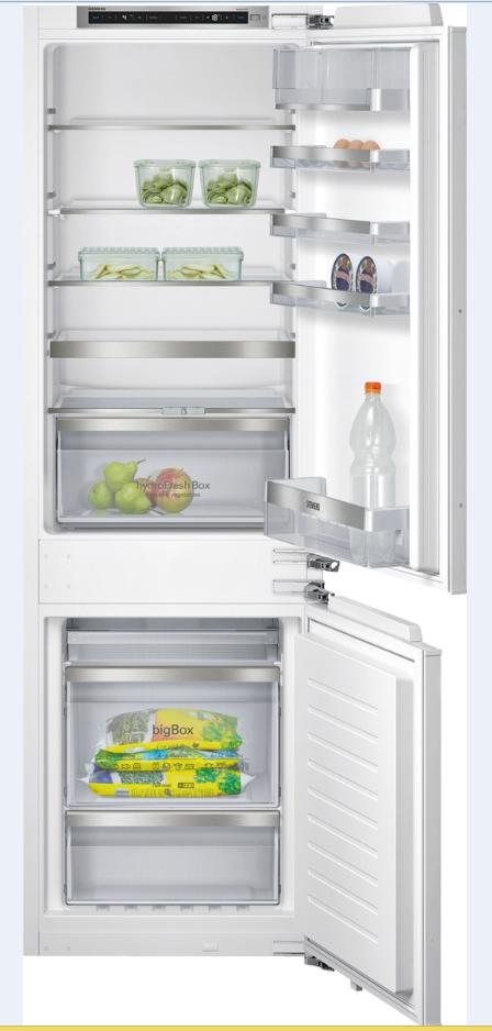 vestavná kombinovaná lednice SIEMENS KI86NAD30 zapojení zdarma
