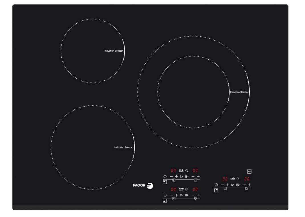 indukční varná deska FAGOR IF-700CS zapojení zdarma + doprava a dárky zdarma