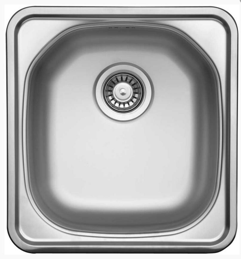 nerezové dřezy malé SINKS Sinks COMPACT 435 M 0,5mm matný + doprava a dárky zdarma