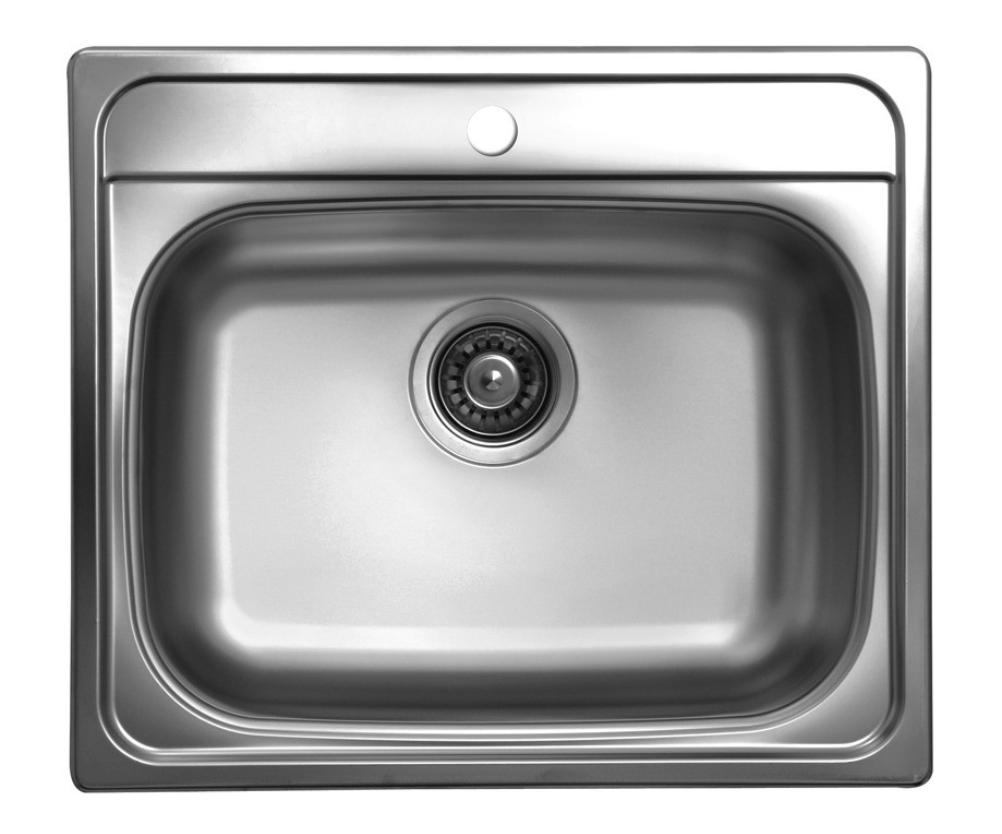 nerezové dřezy malé SINKS Sinks TRITON 570 V 0,8mm texturovaný + doprava a dárky zdarma