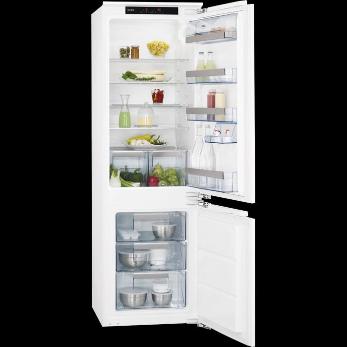 vestavná kombinovaná lednice AEG SCS81800C0 zapojení zdarma