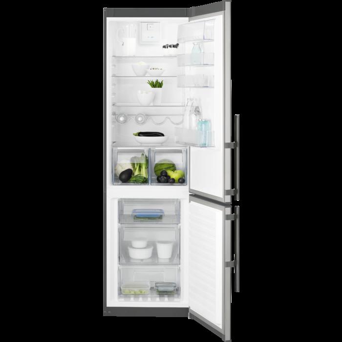 kombinovaná lednice ELECTROLUX EN 3853 MOX