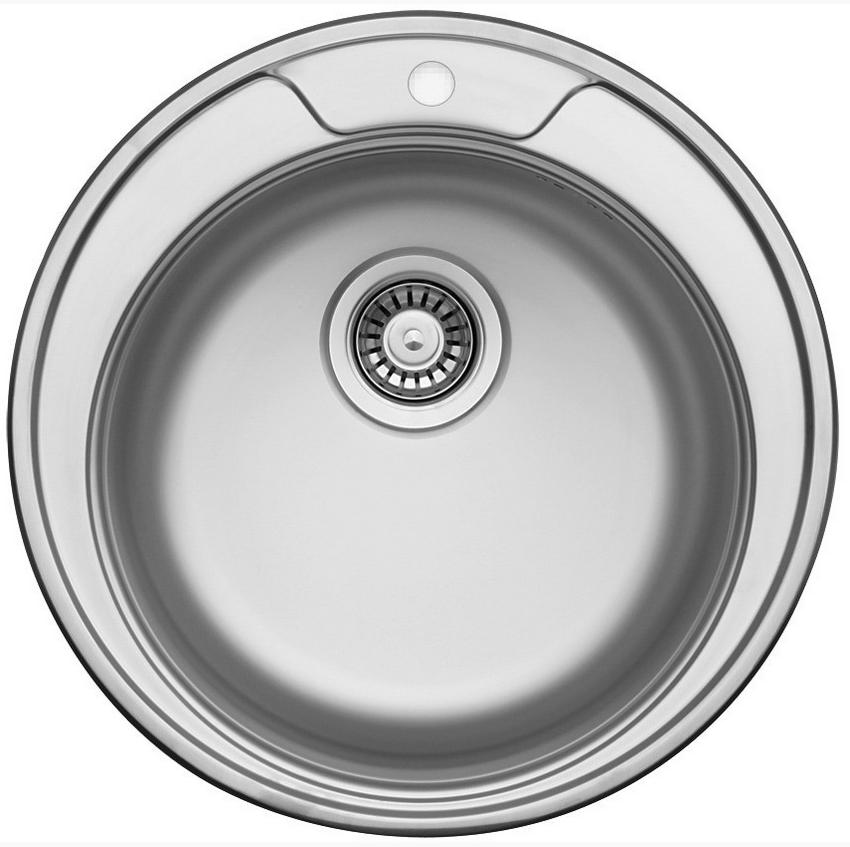 nerezové dřezy malé SINKS Sinks FAVORITE 490 V 0,6mm matný + doprava a dárky zdarma