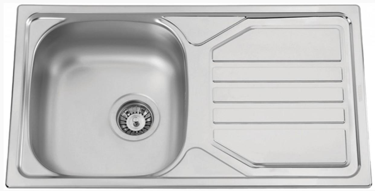nerezové dřezy velké SINKS Sinks OKIO 780 V 0,6mm texturovaný + doprava a dárky zdarma