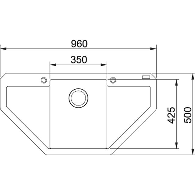 nerezové dřezy malé SINKS Sinks CLASSIC 480 M 0,5mm matný + doprava a dárky zdarma