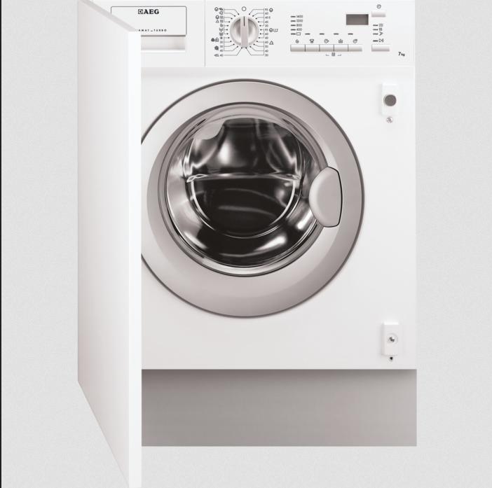 pračka se sušičkou AEG L61470WDBI zapojení zdarma