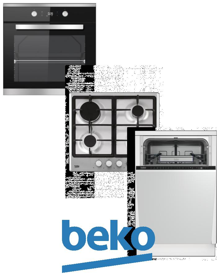 výhodný set BEKO BIM 25301 XCS+HIMG 64225 SX+DIS 28020 zapojení zdarma