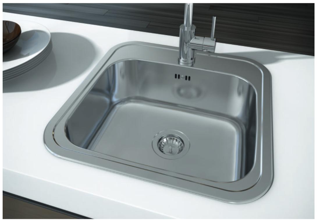 nerezové dřezy malé SINKS Sinks BAR 380 V 0,7mm matný + doprava a dárky zdarma