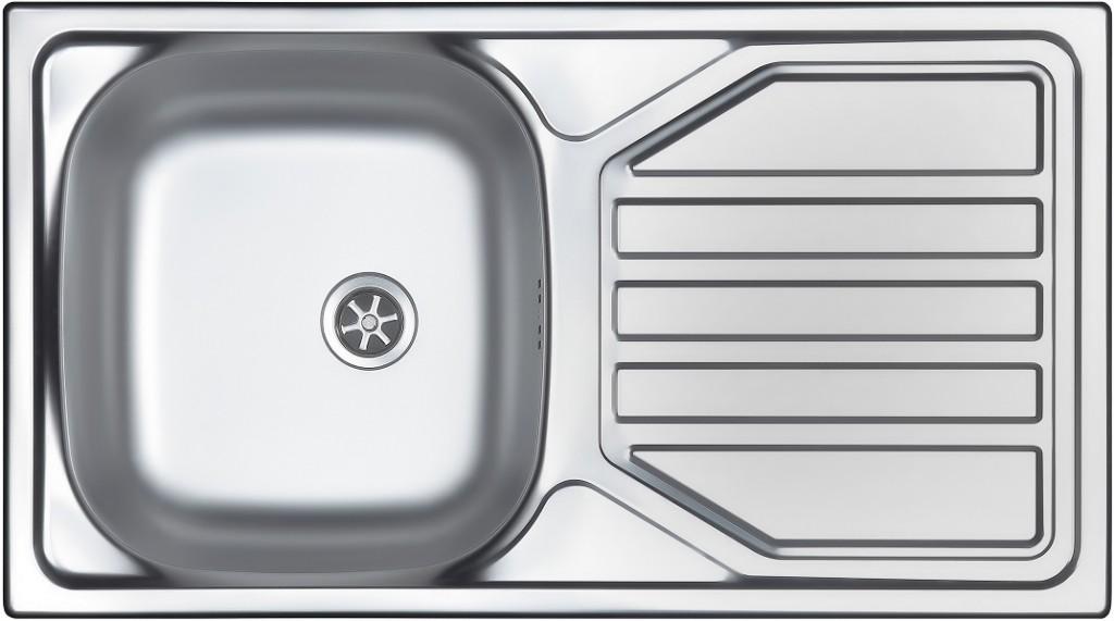 nerezové dřezy velké SINKS Sinks OKIO 780 M 0,5mm matný + doprava a dárky zdarma