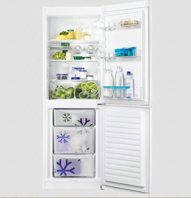 kombinovaná lednice ZANUSSI ZRB33103WA