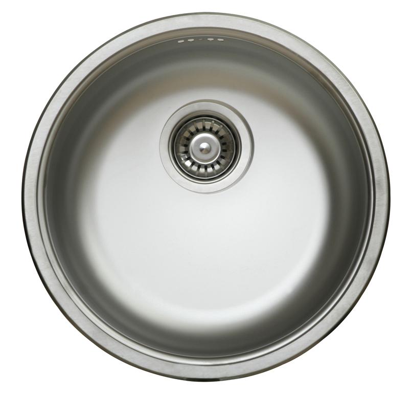 nerezové dřezy malé SINKS Sinks RONDO 435 V 0,6mm matný + doprava a dárky zdarma