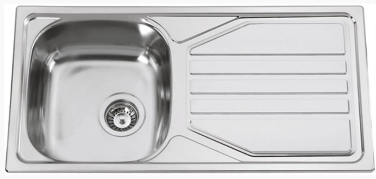 nerezové dřezy velké SINKS Sinks OKIO 860 V 0,5mm leštěný + doprava a dárky zdarma