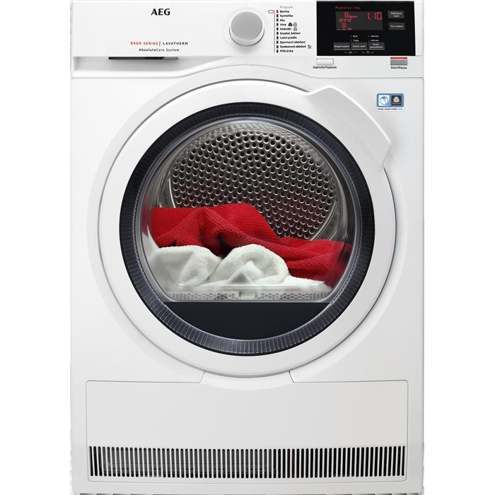 sušička prádla AEG T8DBG48WC + doprava a dárky zdarma