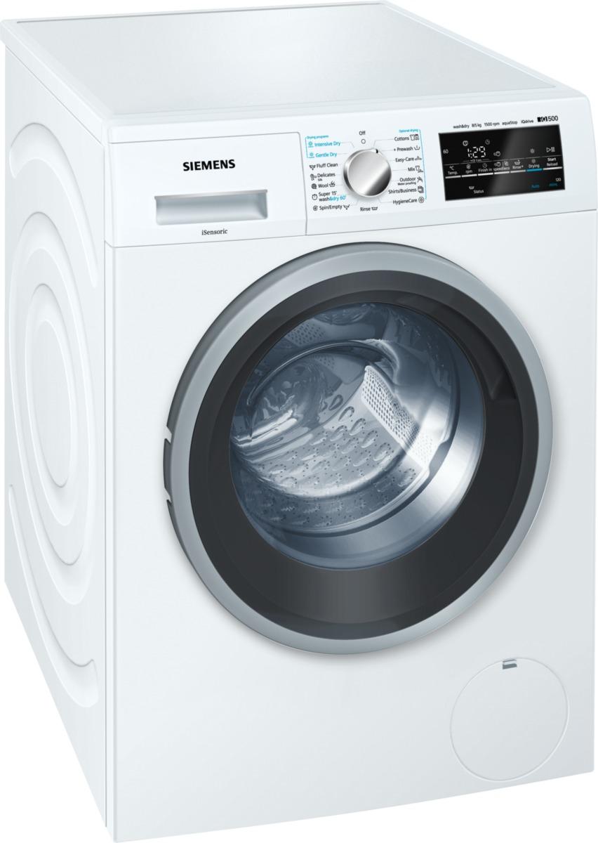 pračka se sušičkou SIEMENS WD15G441EU