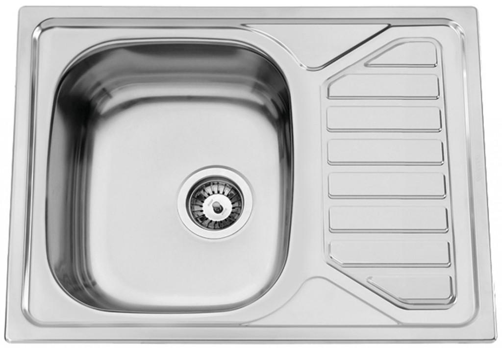 nerezové dřezy velké SINKS Sinks OKIO 650 V 0,6mm matný + doprava a dárky zdarma