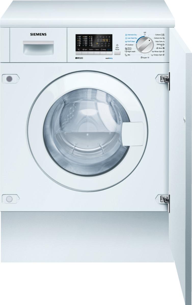 pračka se sušičkou SIEMENS WK14D541EU zapojení zdarma
