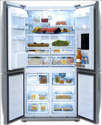 americké lednice BEKO GNE 134630 X