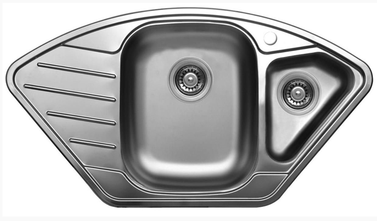 nerezové dřezy velké SINKS Sinks CUPID 920.1 V 0,8mm leštěný + doprava a dárky zdarma