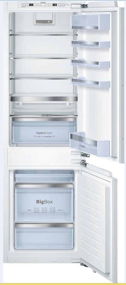 vestavná kombinovaná lednice BOSCH KIS86AD40 zapojení zdarma