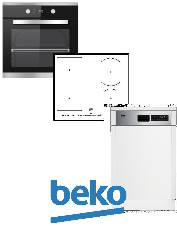 výhodný set BEKO BIM 25301 XCS+HII 64505 FHT+DSS 28020 X zapojení zdarma