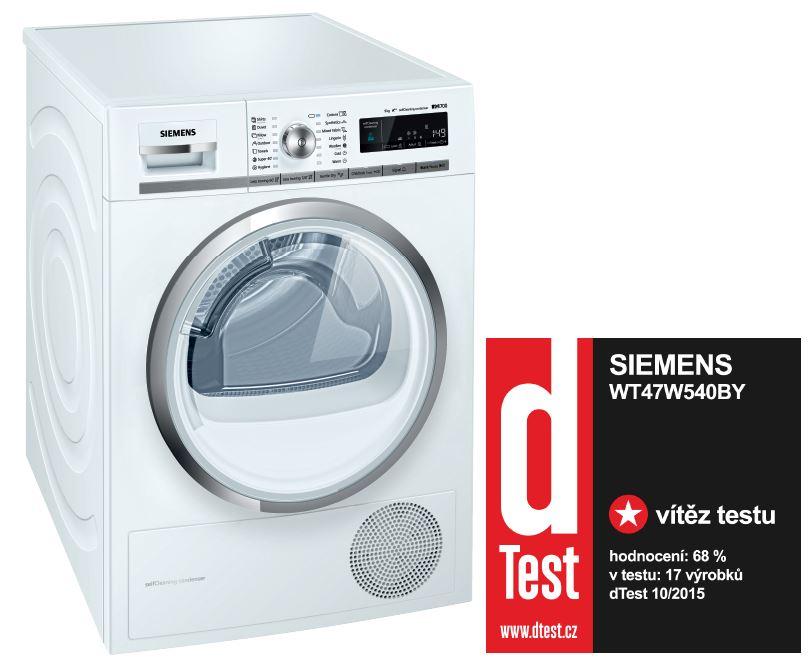 sušička prádla SIEMENS WT47W540BY + doprava a dárky zdarma