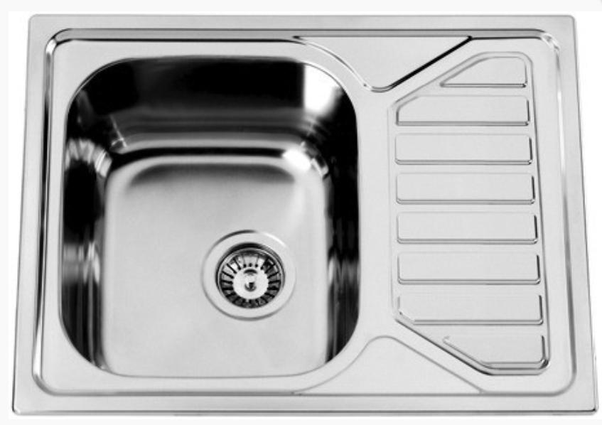 nerezové dřezy velké SINKS Sinks OKIO 650 V 0,6mm texturovaný + doprava a dárky zdarma
