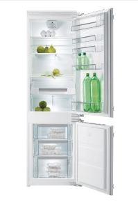 vestavná kombinovaná lednice GORENJE RCI 5181 KW zapojení zdarma