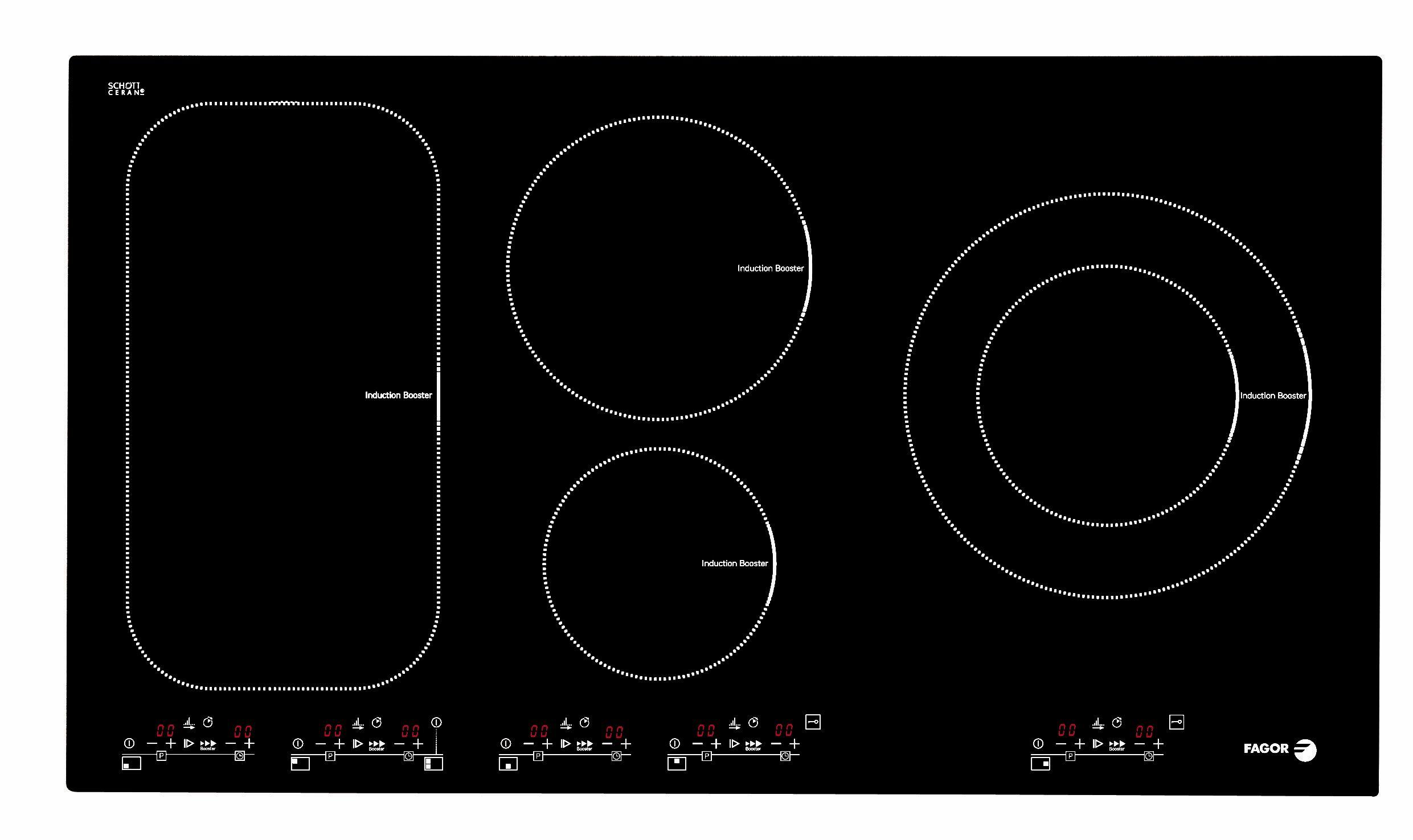 indukční varná deska FAGOR IF-ZONE 90 S zapojení zdarma + doprava a dárky zdarma
