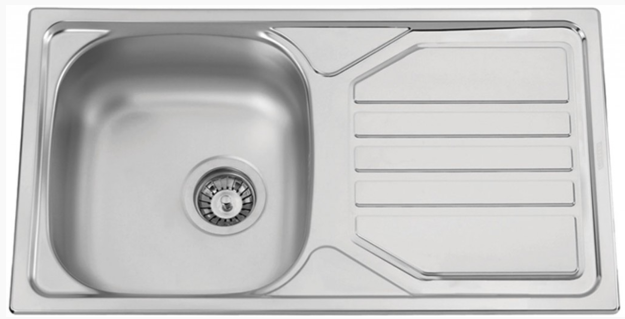 nerezové dřezy velké SINKS Sinks OKIO 780 V 0,5mm matný + doprava a dárky zdarma