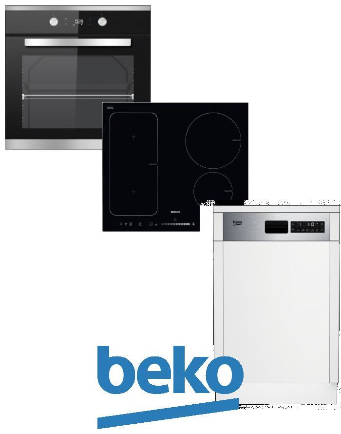výhodný set BEKO BIM 25301 XCS+HII 64500 FT+DSS 28020 X zapojení zdarma