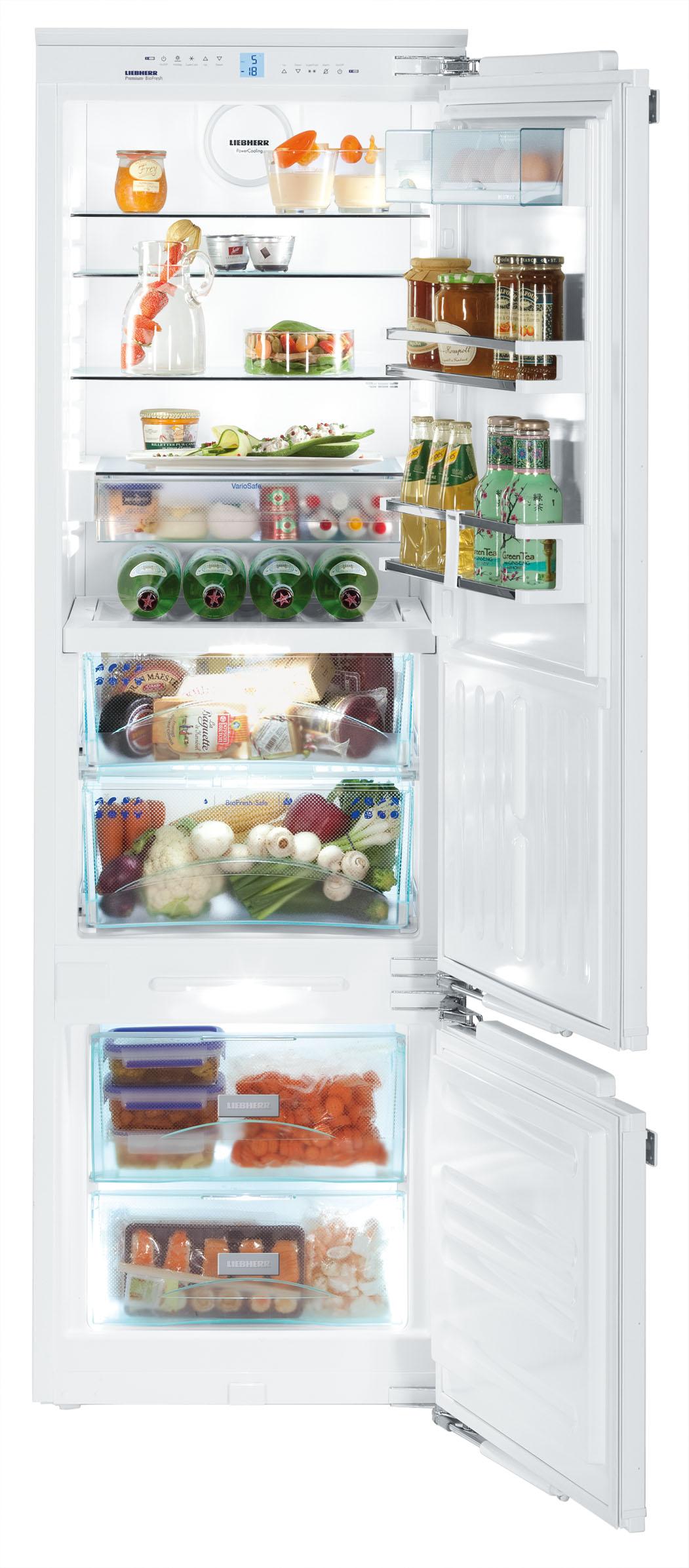 vestavná kombinovaná lednice LIEBHERR ICBP 3256 zapojení zdarma