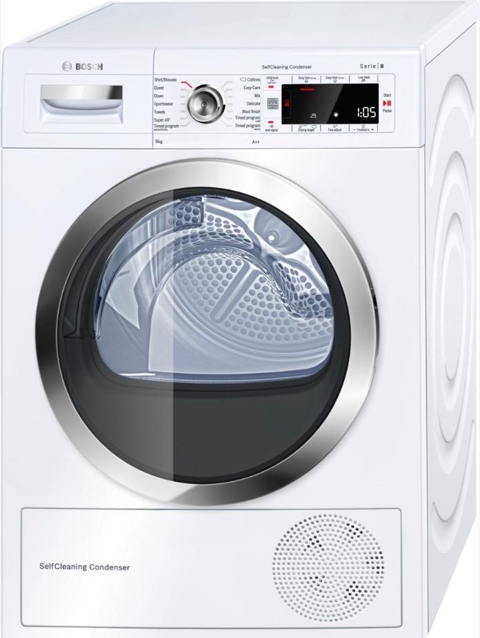 sušička prádla BOSCH WTW85561BY + doprava a dárky zdarma