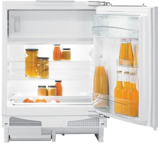 vestavná kombinovaná lednice GORENJE RBIU 6091 AW zapojení zdarma