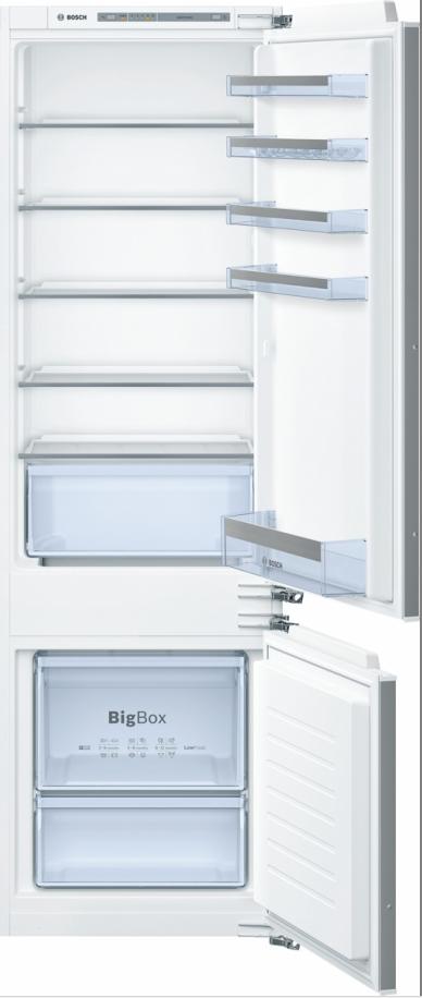 vestavná kombinovaná lednice BOSCH KIV87VF30 zapojení zdarma