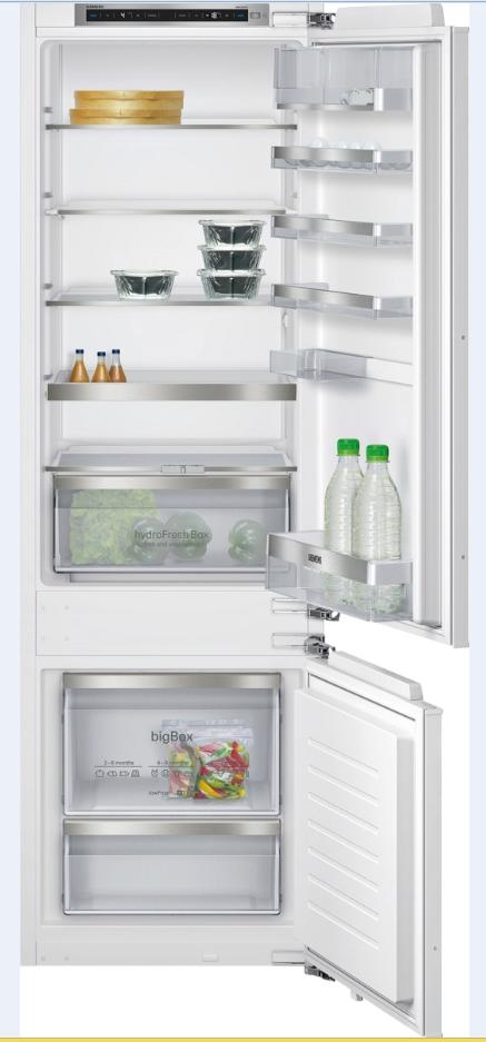 vestavná kombinovaná lednice SIEMENS KI87SAF30 zapojení zdarma