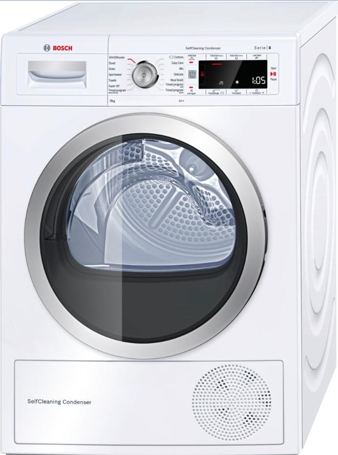sušička prádla BOSCH WTW85560BY + doprava a dárky zdarma