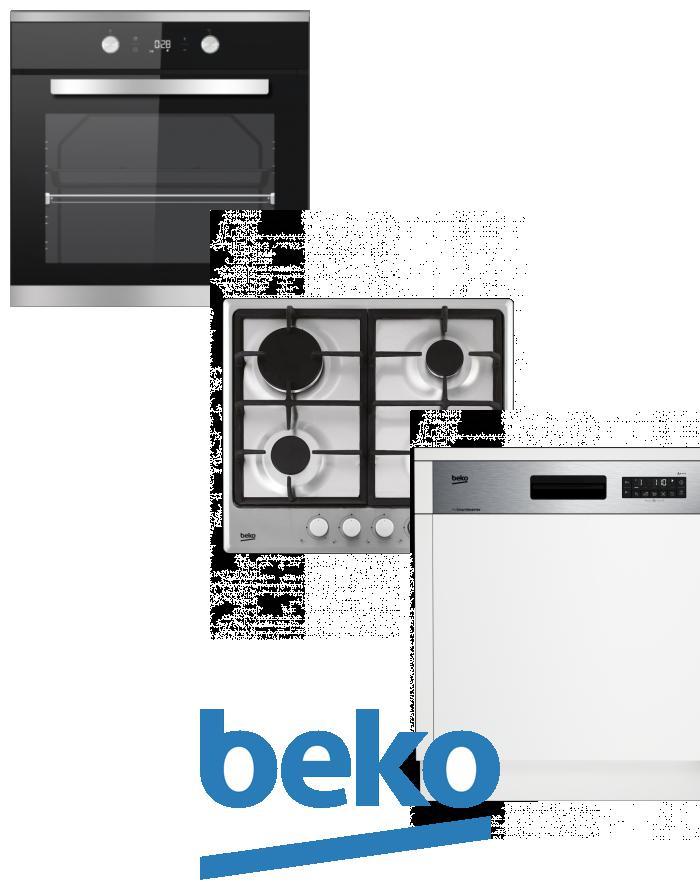 výhodný set BEKO BIM 25301 XCS+HIMG 64225 SX+DSN 26320 X zapojení zdarma