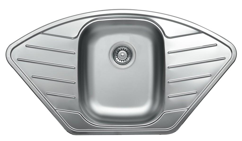 nerezové dřezy velké SINKS Sinks CUPID 920 V 0,8mm leštěný + doprava a dárky zdarma