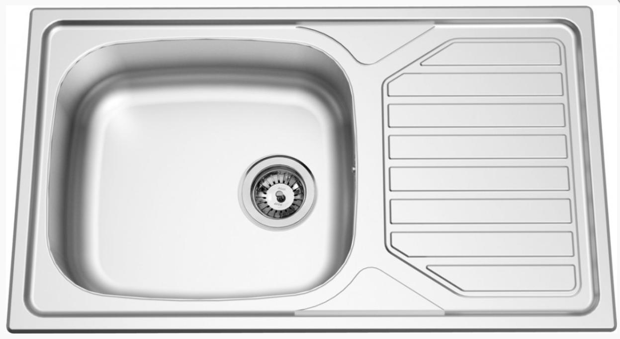 nerezové dřezy velké SINKS Sinks OKIO 860 XXL V 0,6mm leštěný + doprava a dárky zdarma