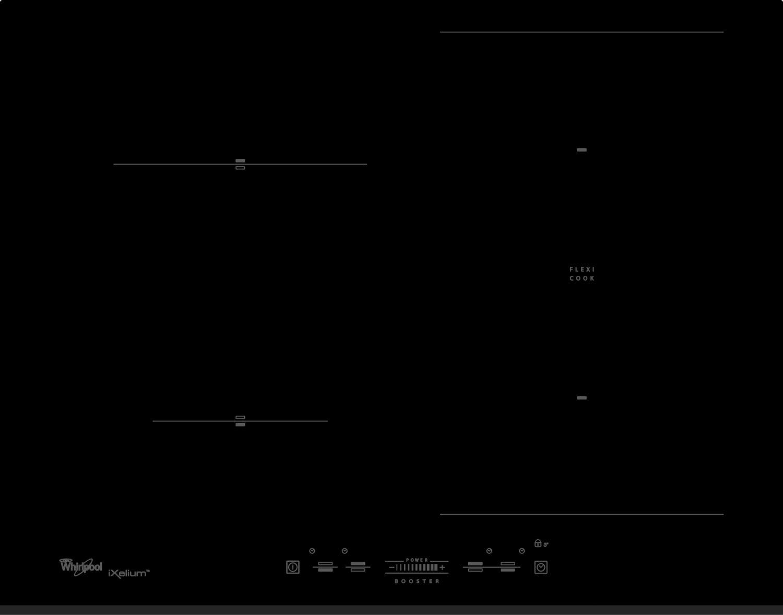 indukční varná deska WHIRLPOOL ACM 8100/BF/IXL zapojení zdarma