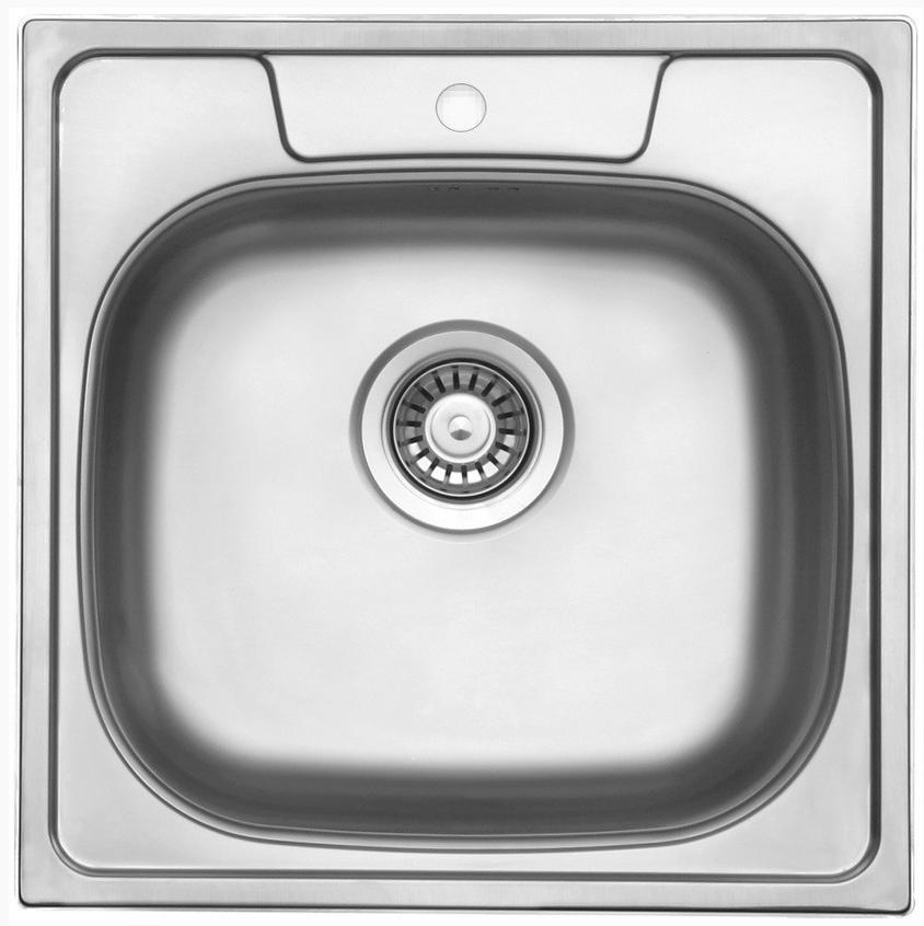 nerezové dřezy malé SINKS Sinks GALANT 480 V 0,6mm texturovaný + doprava a dárky zdarma
