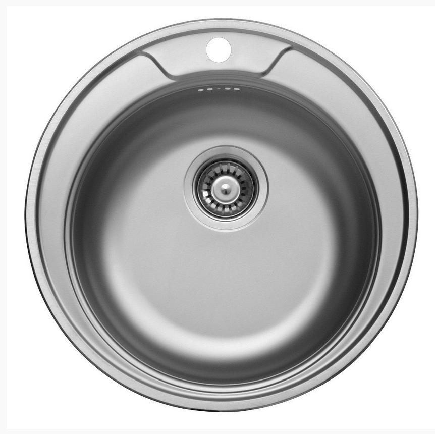 nerezové dřezy malé SINKS Sinks RONDO 510 V 0,6mm matný + doprava a dárky zdarma