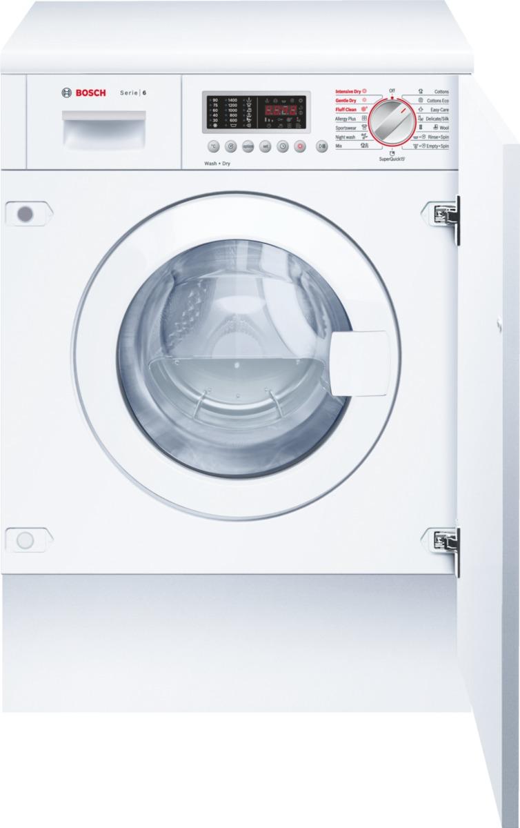 pračka se sušičkou BOSCH WKD28541EU zapojení zdarma