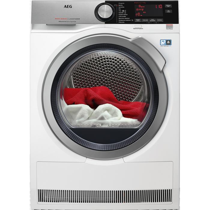 sušička prádla AEG T8DEC49SC + doprava a dárky zdarma