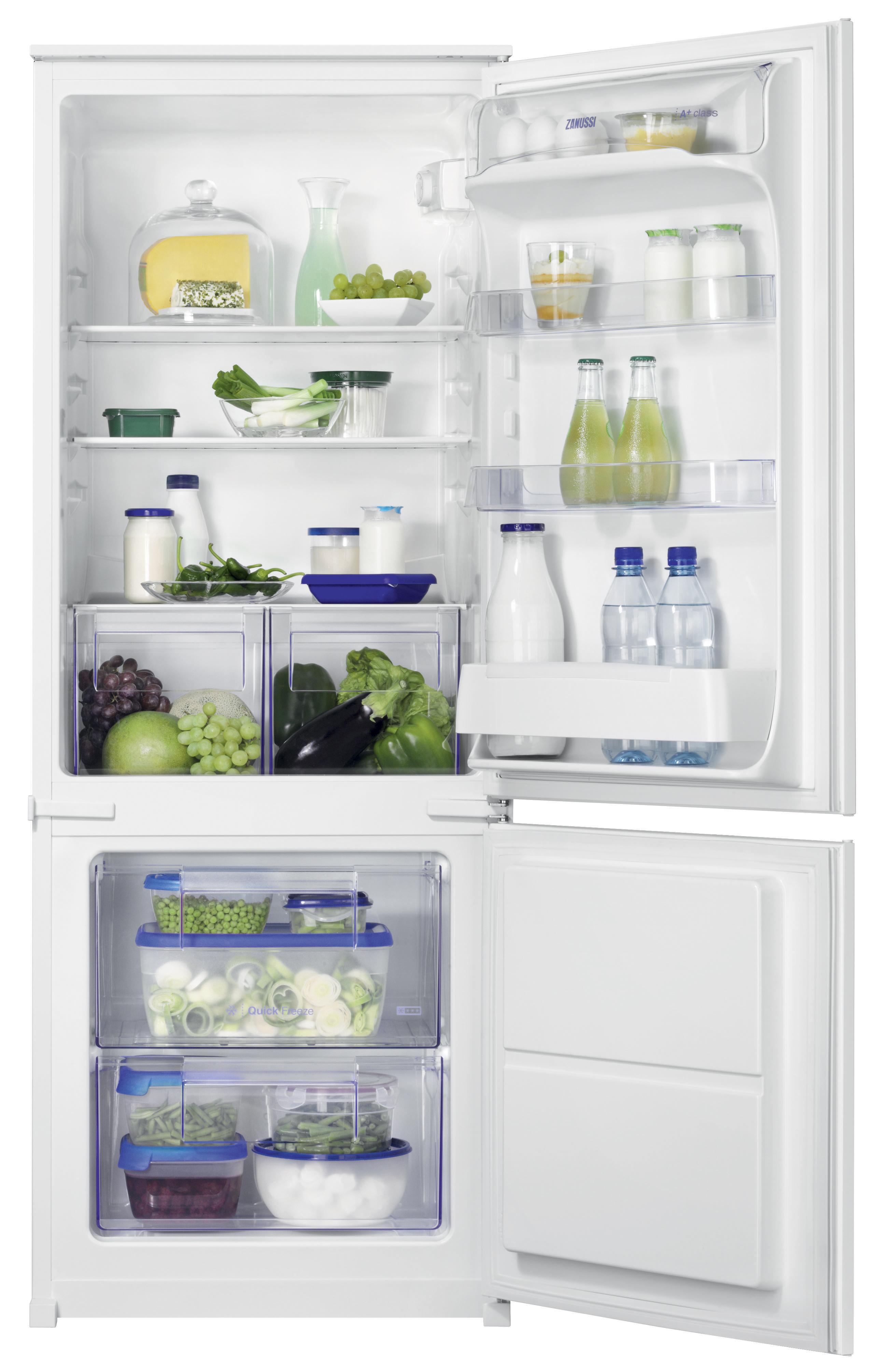 vestavná kombinovaná lednice ZANUSSI ZBB24431SA zapojení zdarma