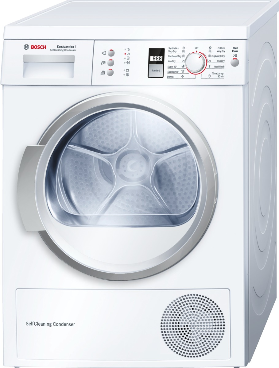 sušička prádla BOSCH WTW86361BY + doprava a dárky zdarma