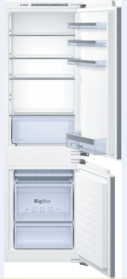 vestavná kombinovaná lednice BOSCH KIV86VF30 zapojení zdarma